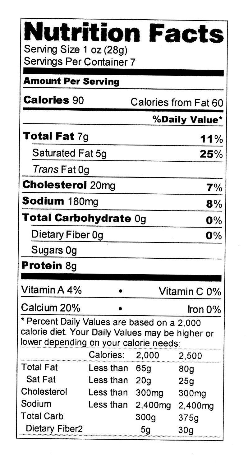 Trix Yogurt Nutrition Label Nutrition Ftempo